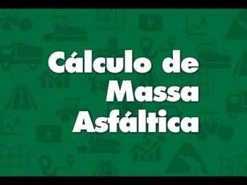 Cálculo de Massa Asfáltica